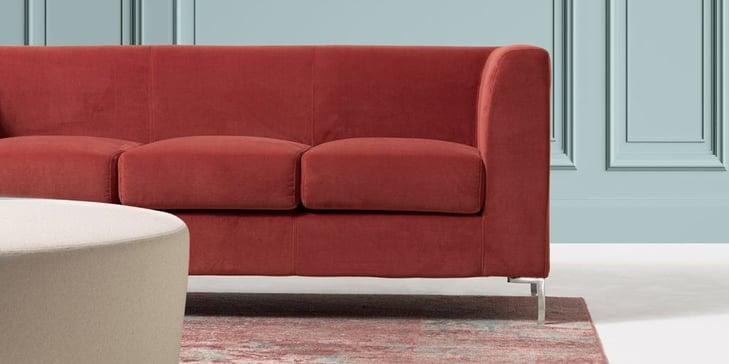 Frame Sofa Red