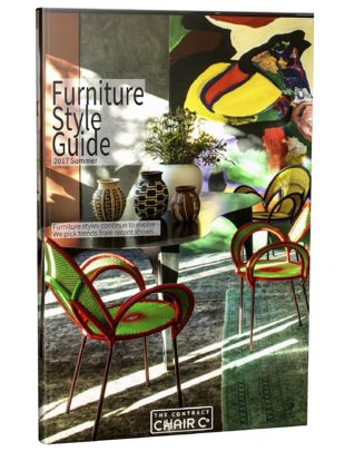 Hospitality Furniture Style Guide Summer 2017 3d cover