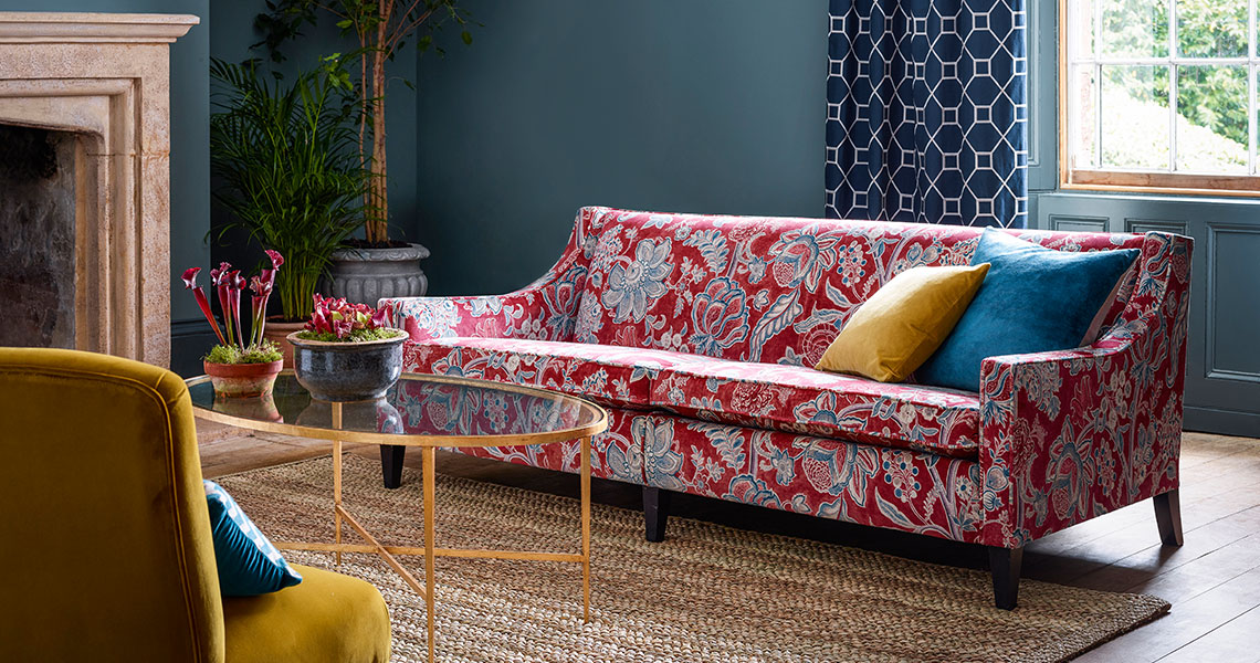 Sanderson Velvet - The Art of the Garden Collection