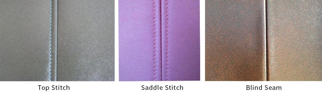 types of stitching