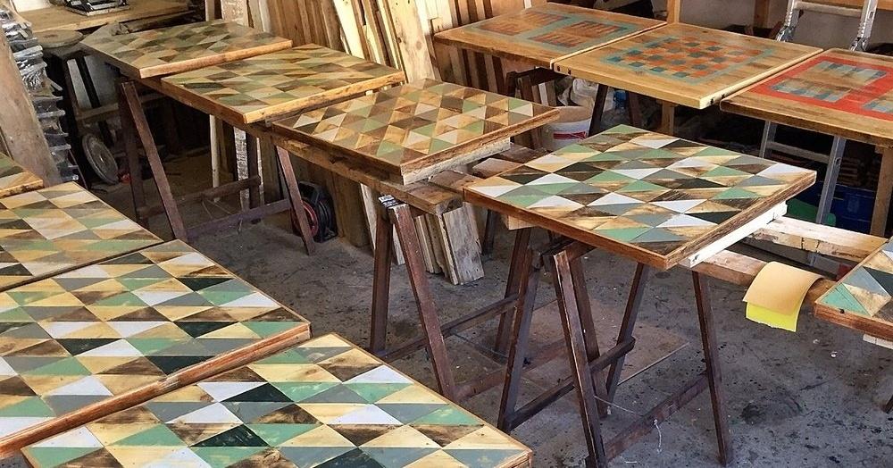 bespoke wooden table tops