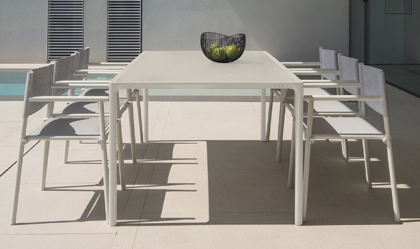 Terramare Armchair next to pool