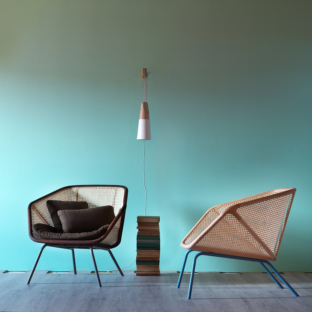 Colony cane lounge chair