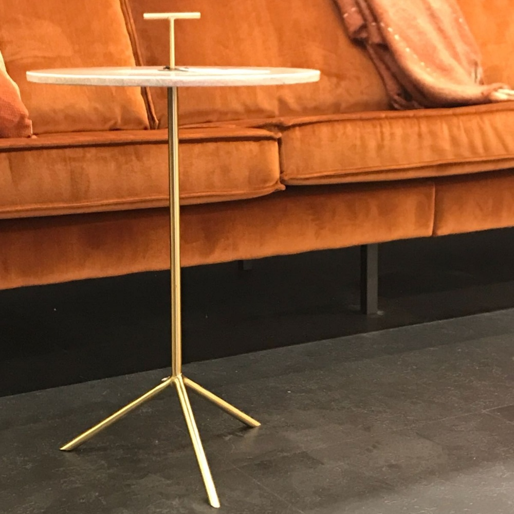 thin metal table from cologne