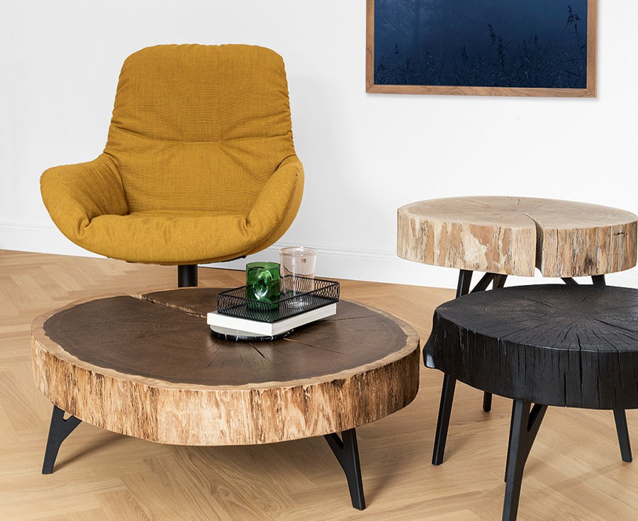 Furniture Trends 2019 Tree Trunk Tables