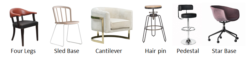 chair base types
