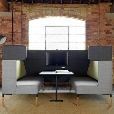 Four us modular booth