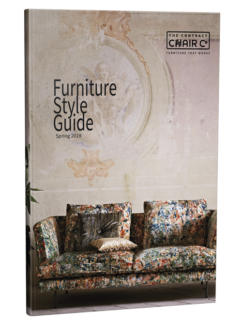 Cover of Furniture Style Guide Spring 2018
