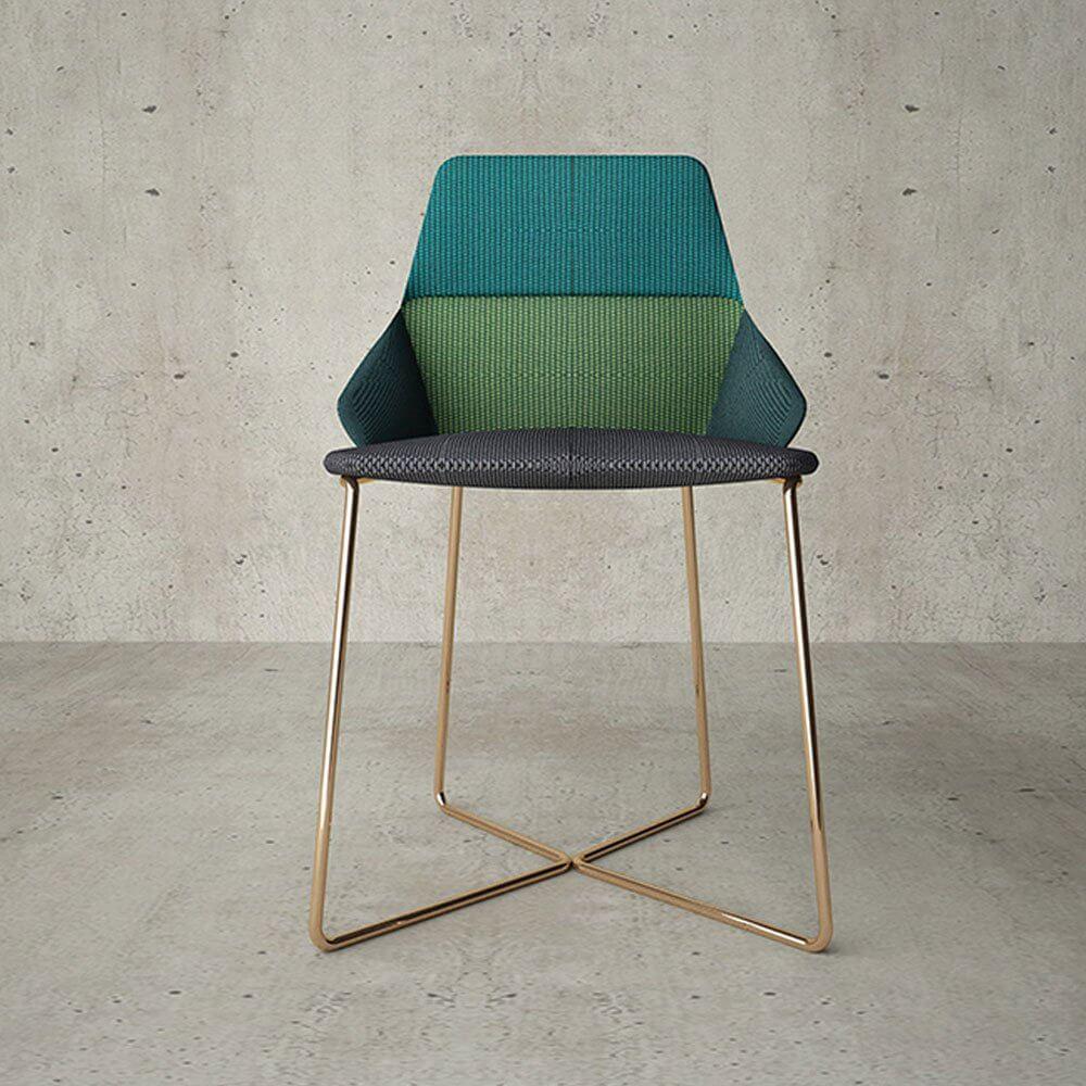 graph armchair green