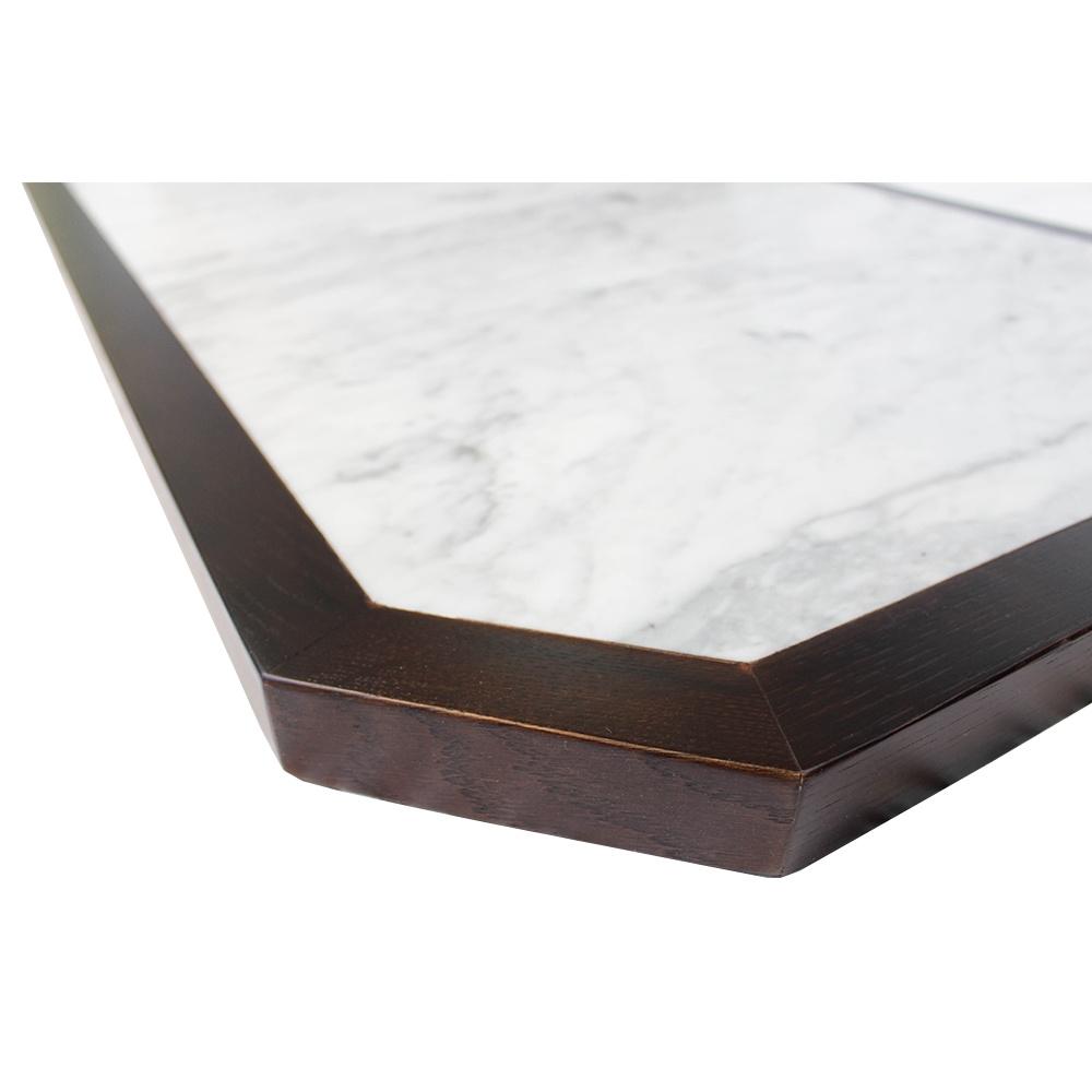 hexagonal-table-top-with-hardwood-edge