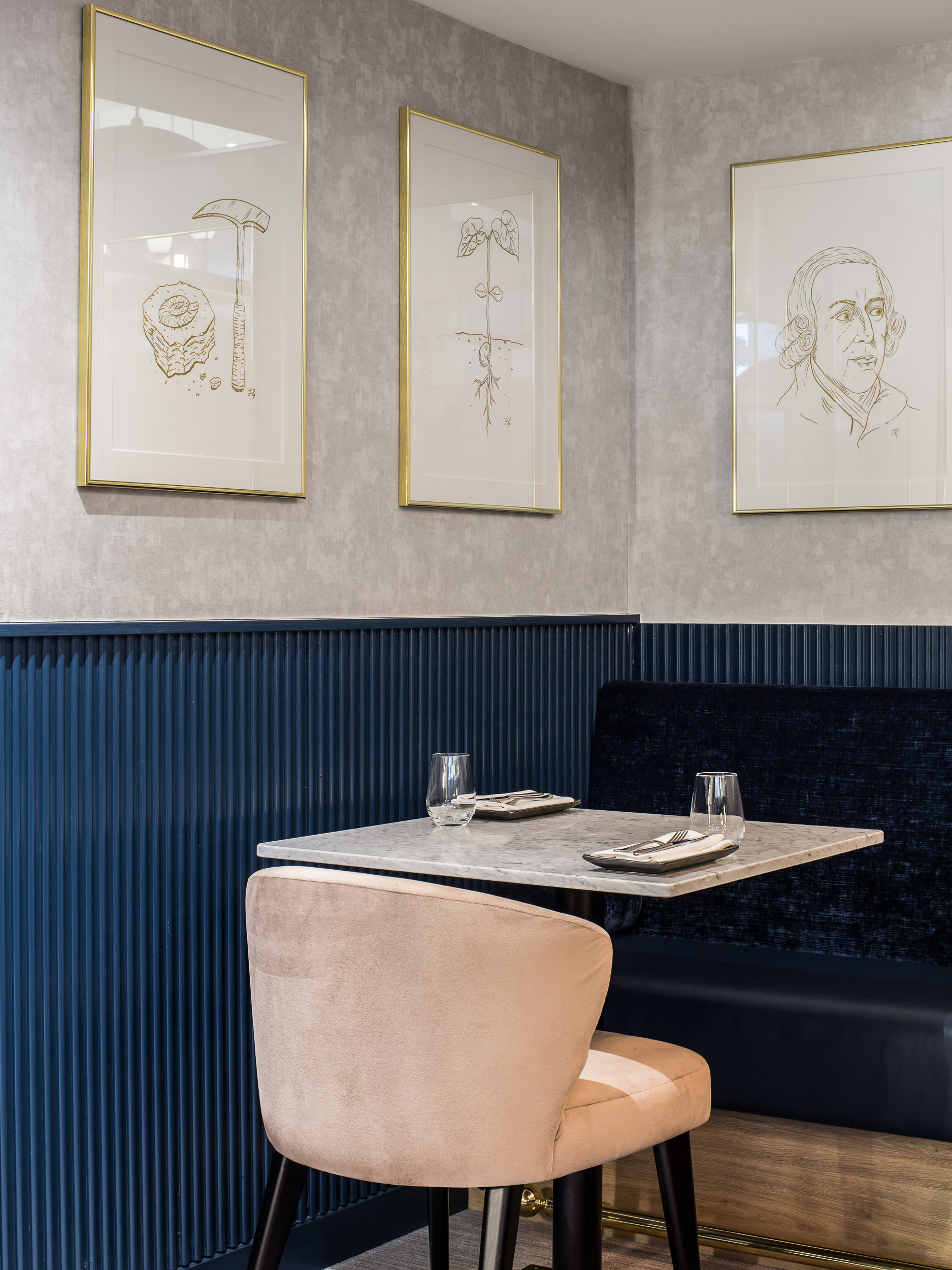 The Oyster Club interiors