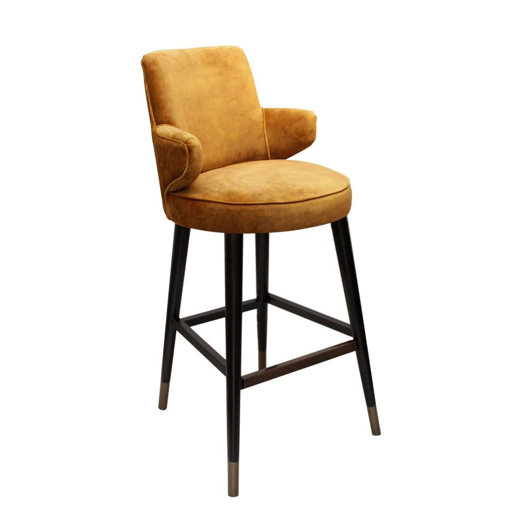 Komodoro High Back Barstool