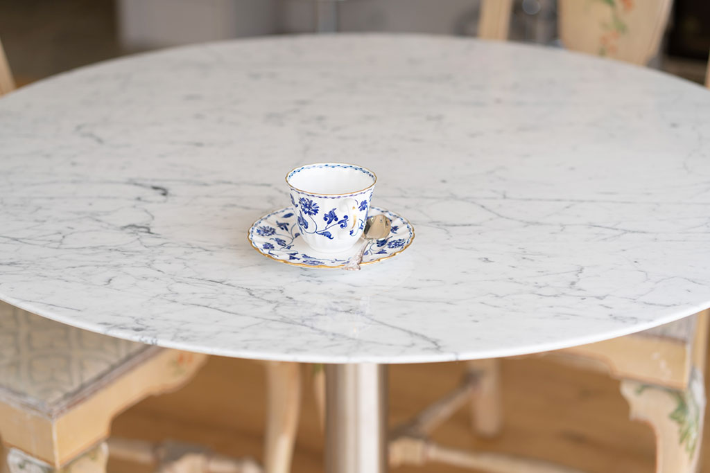 lightweight marble table top