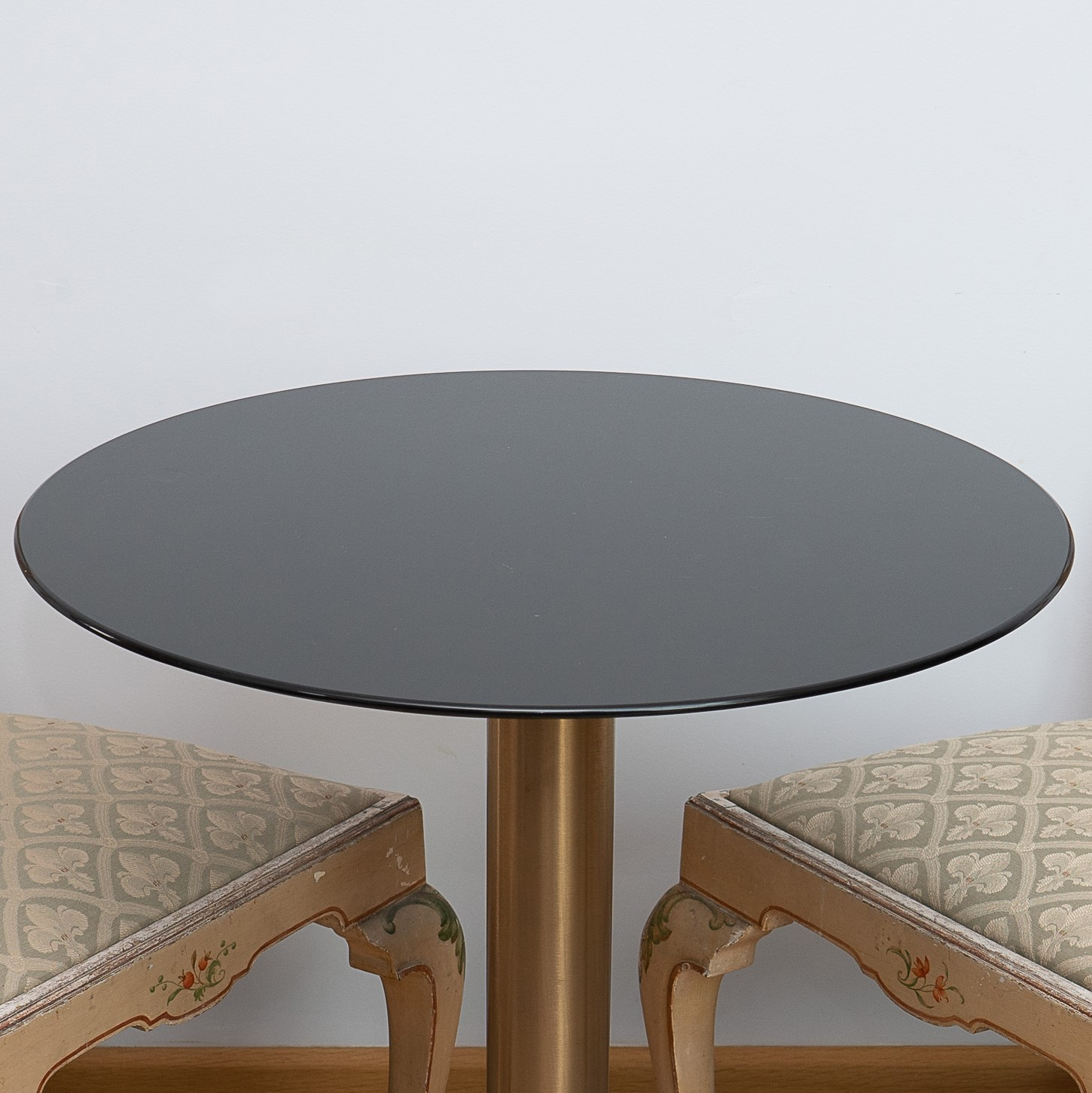 Thin Black Marble Table Top