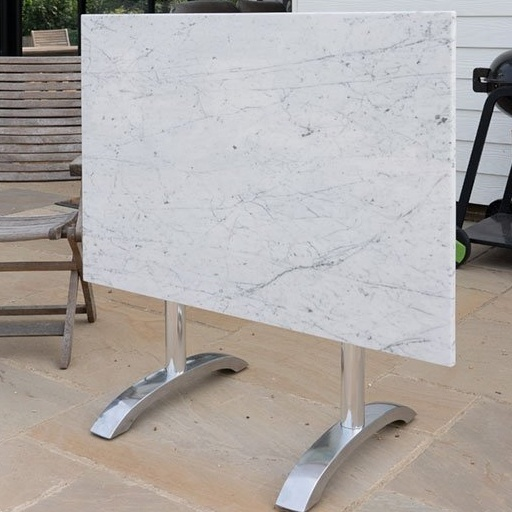 Large Flip Top Marble Table Top