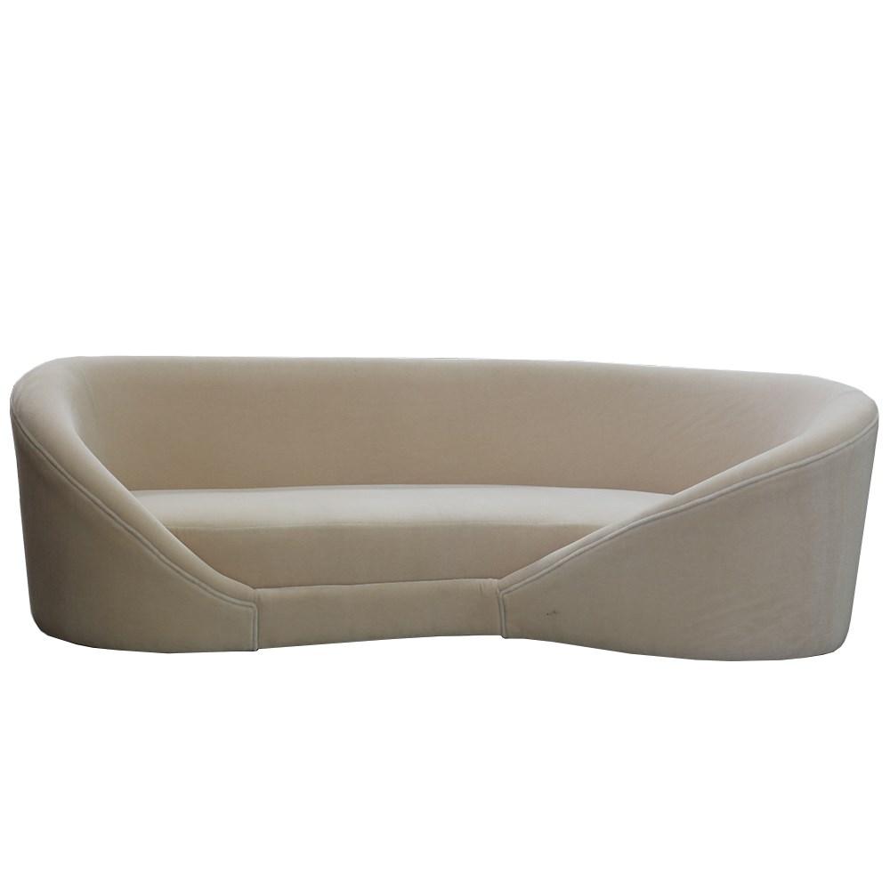 Rio Curved Sofa no feet