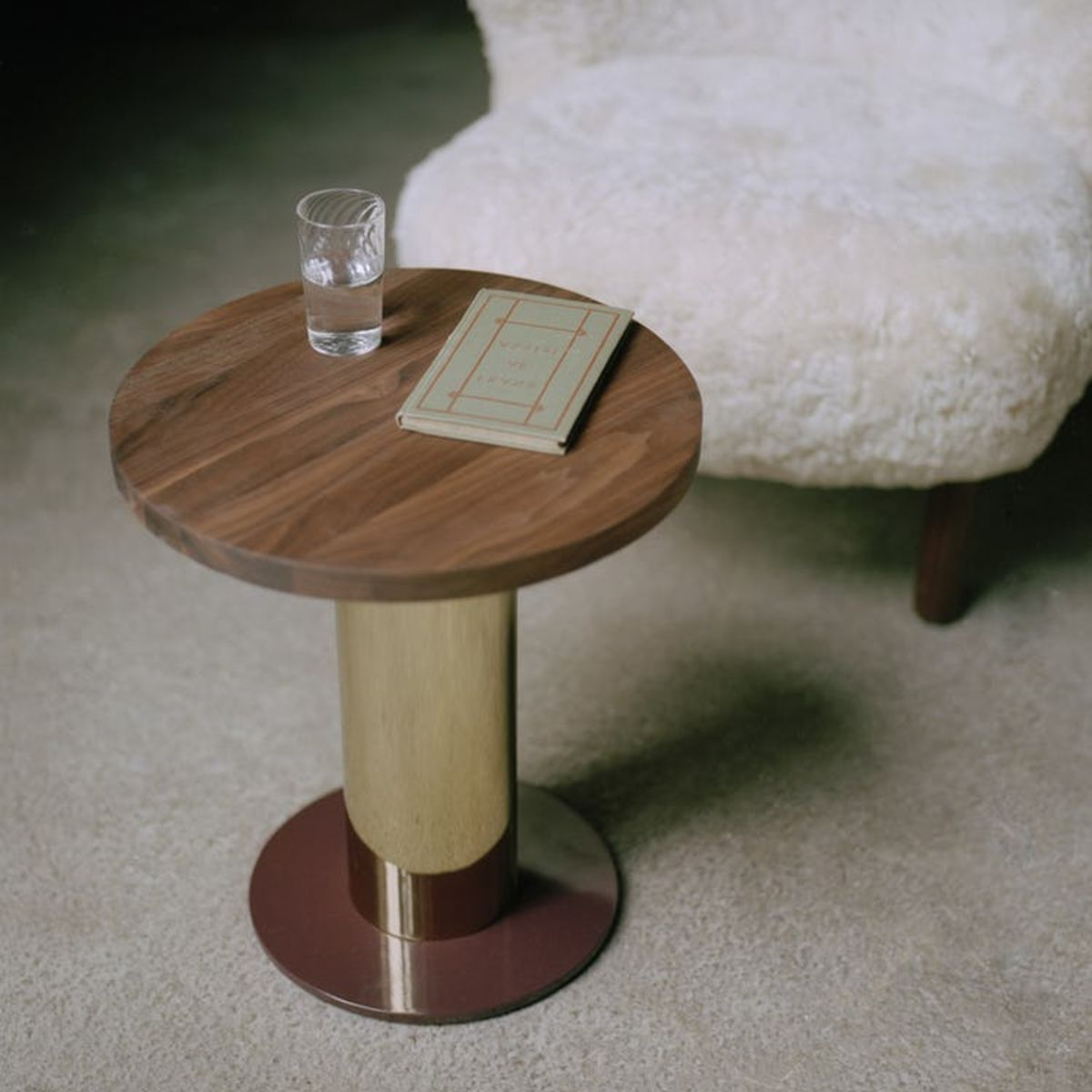 A photo of mezcla coffee table