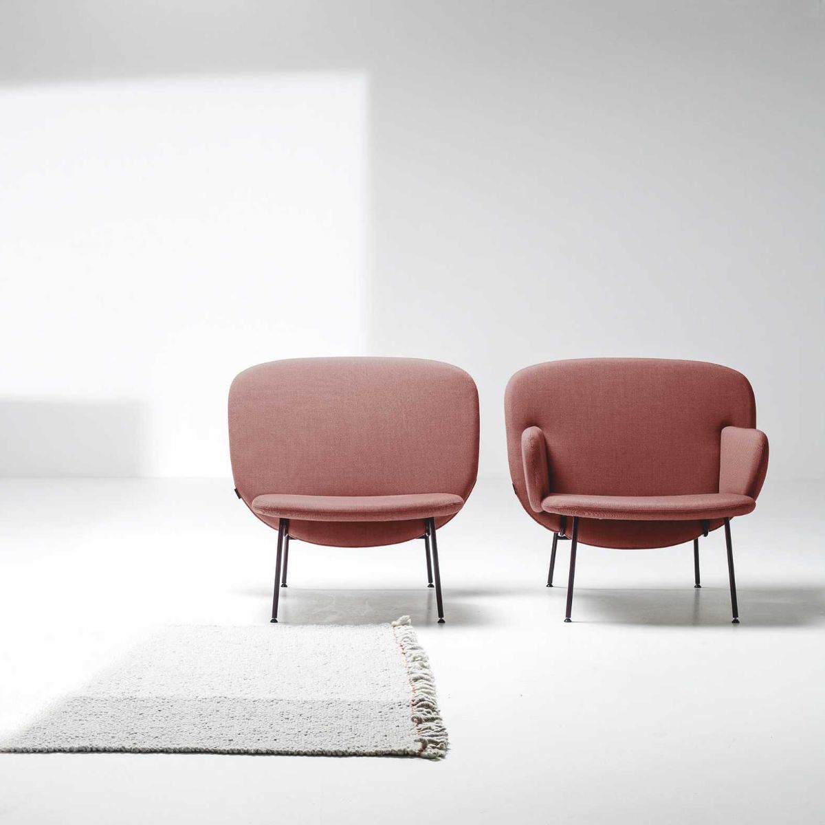 A Photo of two Alta armchair