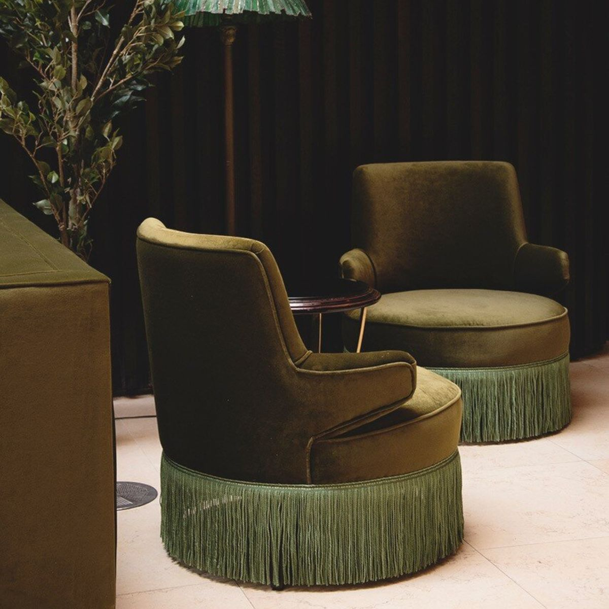 A photo of two Komodoro chairs