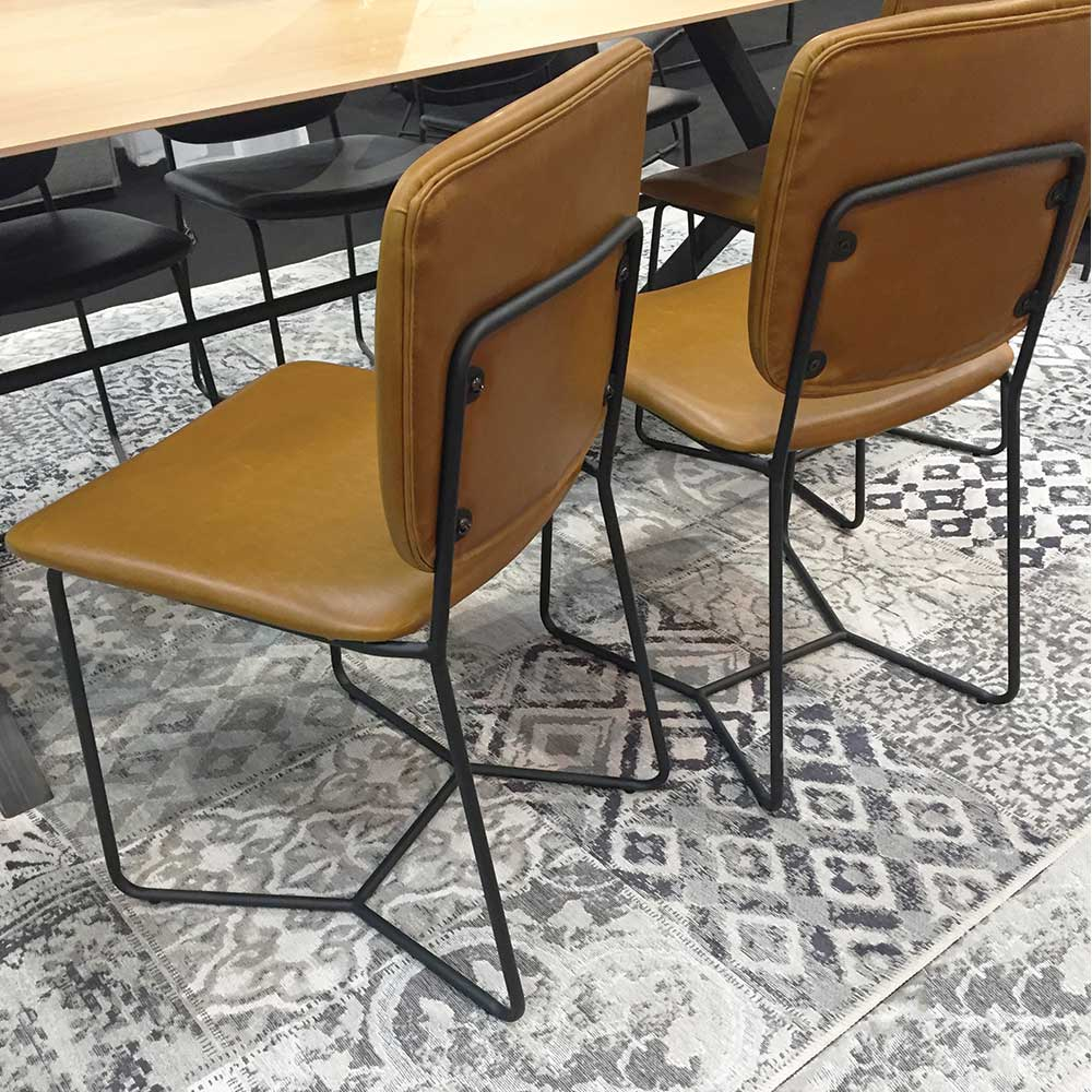 cross sled base chair from imm cologne