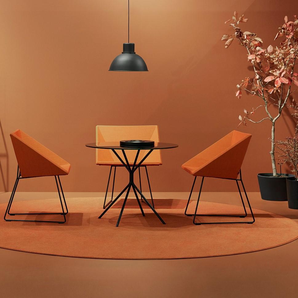 RM57 orange chairs