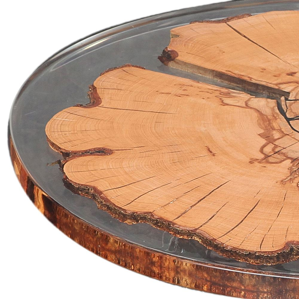 round beech resin table top