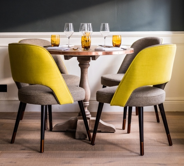 Ava Chairs in The Swan Hotel Southwold