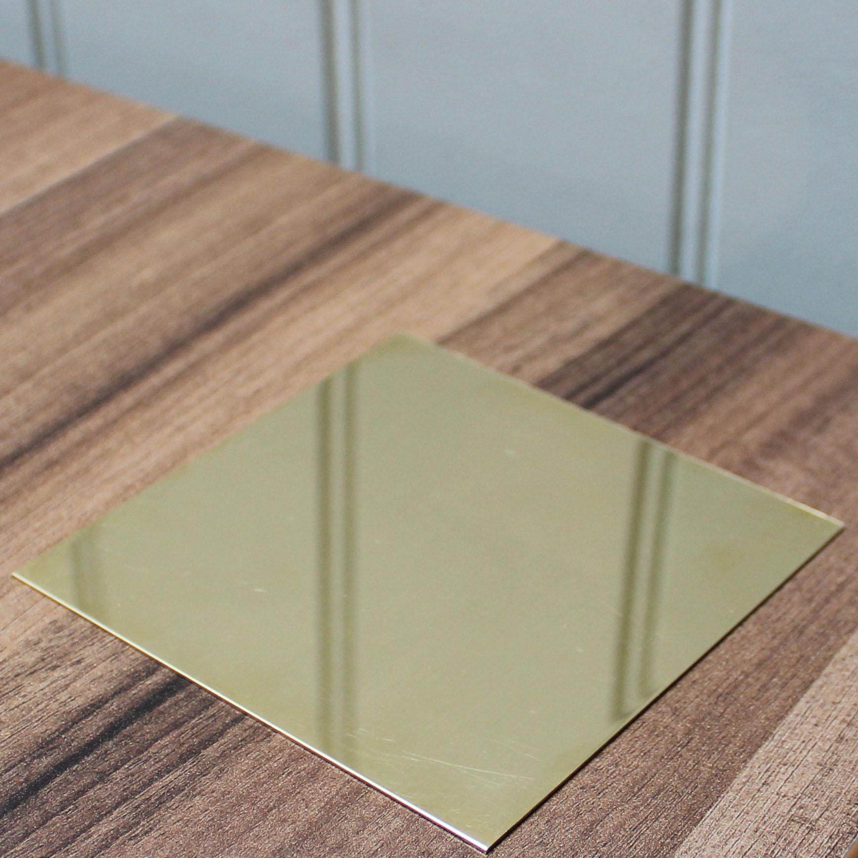 Mirror Polished Brass