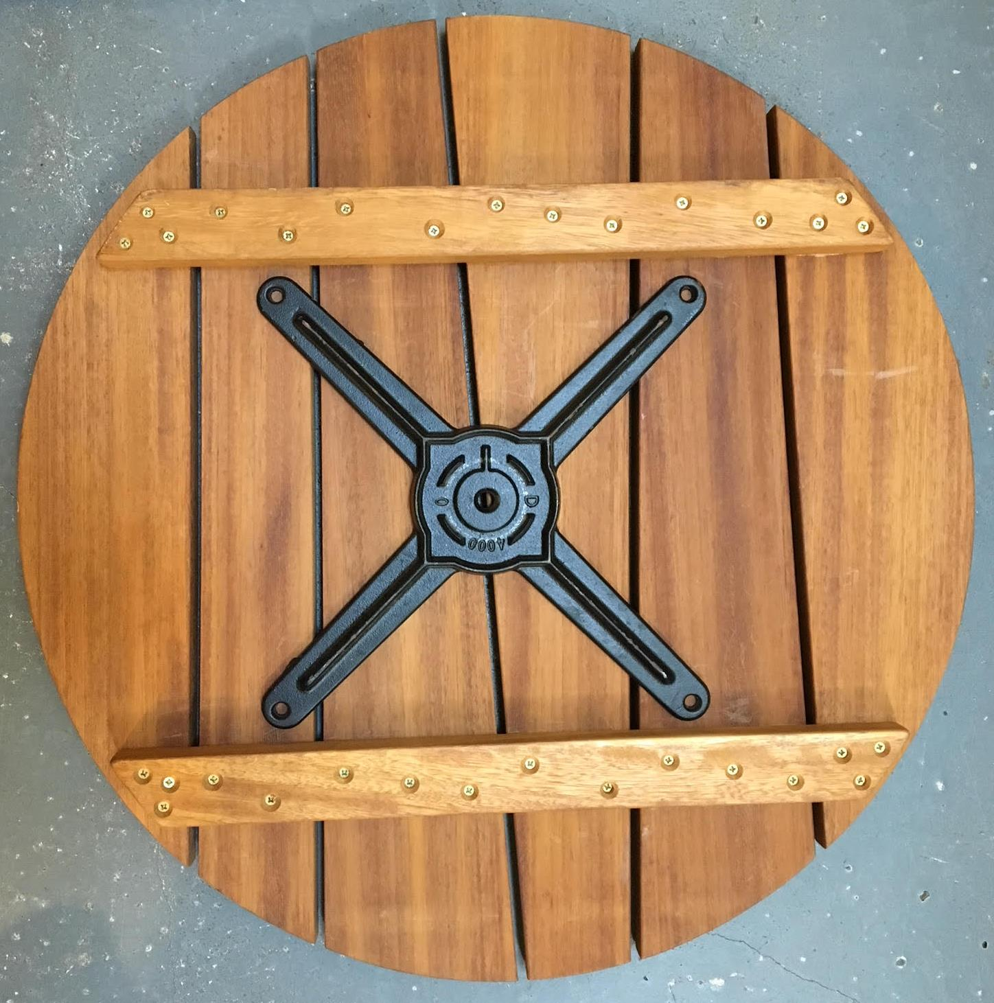 fixing-spider-to-table-with-battens